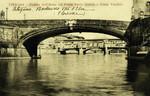 Italy – Florence – Veduta dell'Arno col Ponte Santa Trìnita e Ponte Vecchio