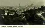 Italy – Florence – Panorama da Monte alle Croci