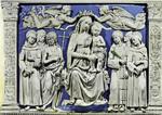 Florence – Basilica di S. Croce, Luca della Robbia