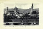 Italy – Florence – Veduta della Cattedrale e Torre di Arnolfo