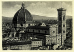 Italy – Florence – La Cattedrale vista dalla Cupola di San Lorenzo