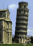 Pisa – La Torre pendente e abside del Duomo