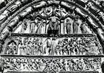 Bourges - Cathédrale St-Etienne de Bourges - Tympan du Grand Portail