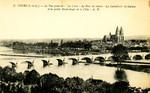 Tours - La Vue générale - La Loire - La Pont de pierre