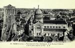 Tours - Panorama de la Tour Charlemagne, de la Basilique St-Martin