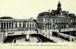 Tours - Le Palais de Justice, l'Hôtel de Ville et la Place