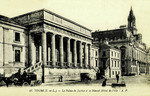 Tours - Le Palais de Justice et le Nouvel Hôtel de Ville