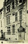 Tours - Façade de la Maison dite de Tristan l'Hermite