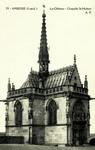 Amboise - La Château - Chapelle St-Hubert