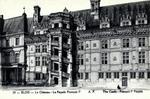 Blois - Le Château - La Façade François Ier