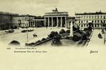 Berlin – Brandenburger Thor mit Pariser Platz