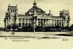Berlin – Reichstaggebäude (Westseite)