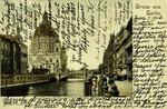 Berlin – Burg-Strasse mit Kaiser Wilhelm Brücke und Dom