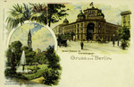 Berlin – Kaiserl Postamt 24 Oranienburderstr