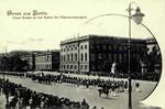 Berlin – Unser Kaiser an der Spitze der Fahnencompagnie