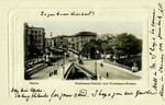 Berlin Potsdamer-Brücke und Potsdamer-Strasse