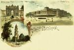 Potsdam – Brandenburger Thor - Garnisonkirche - Stadtschloss