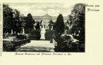 Potsdam – Schloss Sanssouci mit Denkmal Friedrich d. Gr.