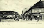 Czech Republic – Aussig – Unterer marktplatz mit Töpfergasse