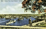 Malta – Valletta –  General View Grand Harbour