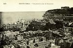 Monaco – Monte-Carlo – Vue générale prise de Beausoleil