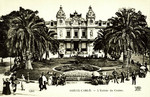 Monaco – Monte-Carlo – L'Entée du Casino