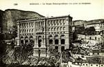 Monaco – Le Musée Océanographique (vue prise en aéroplane)