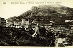 Monaco – Vue sur le Palais du Prince, la Tête de Chien et la Condamine
