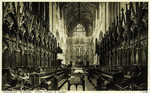 Winchester – Winchester Cathedral – Choir Stalls & Screen