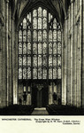 Winchester – Winchester Cathedral – The Great West Window