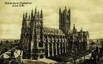 Canterbury – Canterbury Cathedral from S.W.