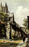 Canterbury – Canterbury Cathedral – Ruins of Infirmary
