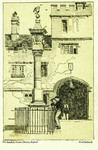 Oxford – The Sundial, Corpus Christi