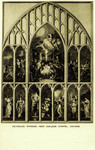 Oxford – New College Chapel, Reynolds Window