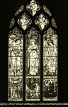 Oxford – Christ Church Cathedral, St. Catherine Window, (Burne Jones)