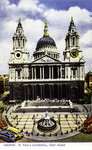 London – St. Paul's Cathedral, West Front