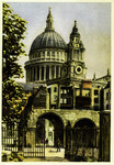 London – The Dome and Spires of St. Paul's