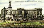 England – London – Victoria Memorial and Buckingham Palace