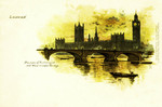 London – Houses of Parliament and Westminster Bridge