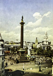 London – Nelson's Column and Trafalgar Square