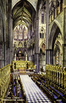England – London – Westminster Abbey – The Choir