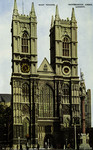 London – Westminster Abbey, West Tower