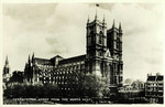 England – London – Westminster Abbey from the North West