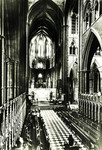 England – London – Westminster Abbey – The Choir Looking East