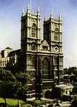 London – Westminster Abbey, The West Front