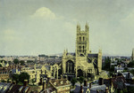 Gloucester – Gloucester Cathedral – From St. Michael's Steeple