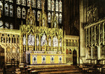 Gloucester – Gloucester Cathedral – The High Altar