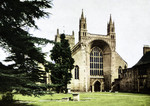 Tewkesbury – Tewkesbury Abbey, the Great Norman Arch, West-End