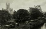 Bath – Abbey from the Bridge