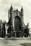 Bath – Bath Abbey, West Front